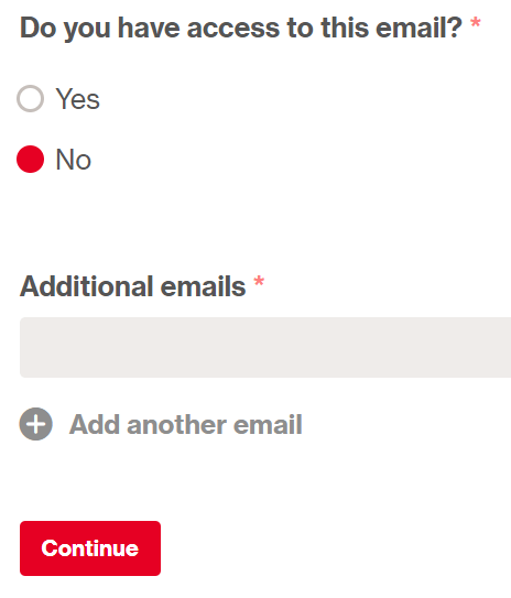 Pinterest-Reactivate Account-Email Submission